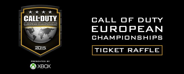 Win Call of Duty European Championship Tickets!