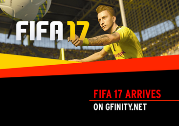 FIFA 17 Arrives on Gfinity.net