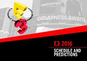 E3 dates