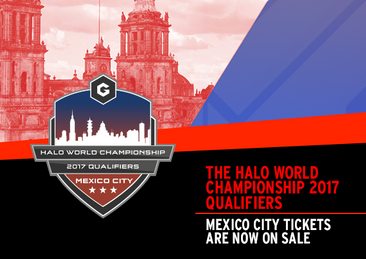 Tickets to the Halo World Championship 2017 Qualifier: Mexico City are now on sale!