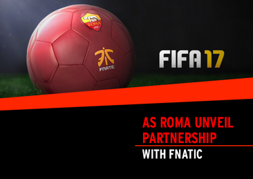 AS Roma unveil partnership with Fnatic