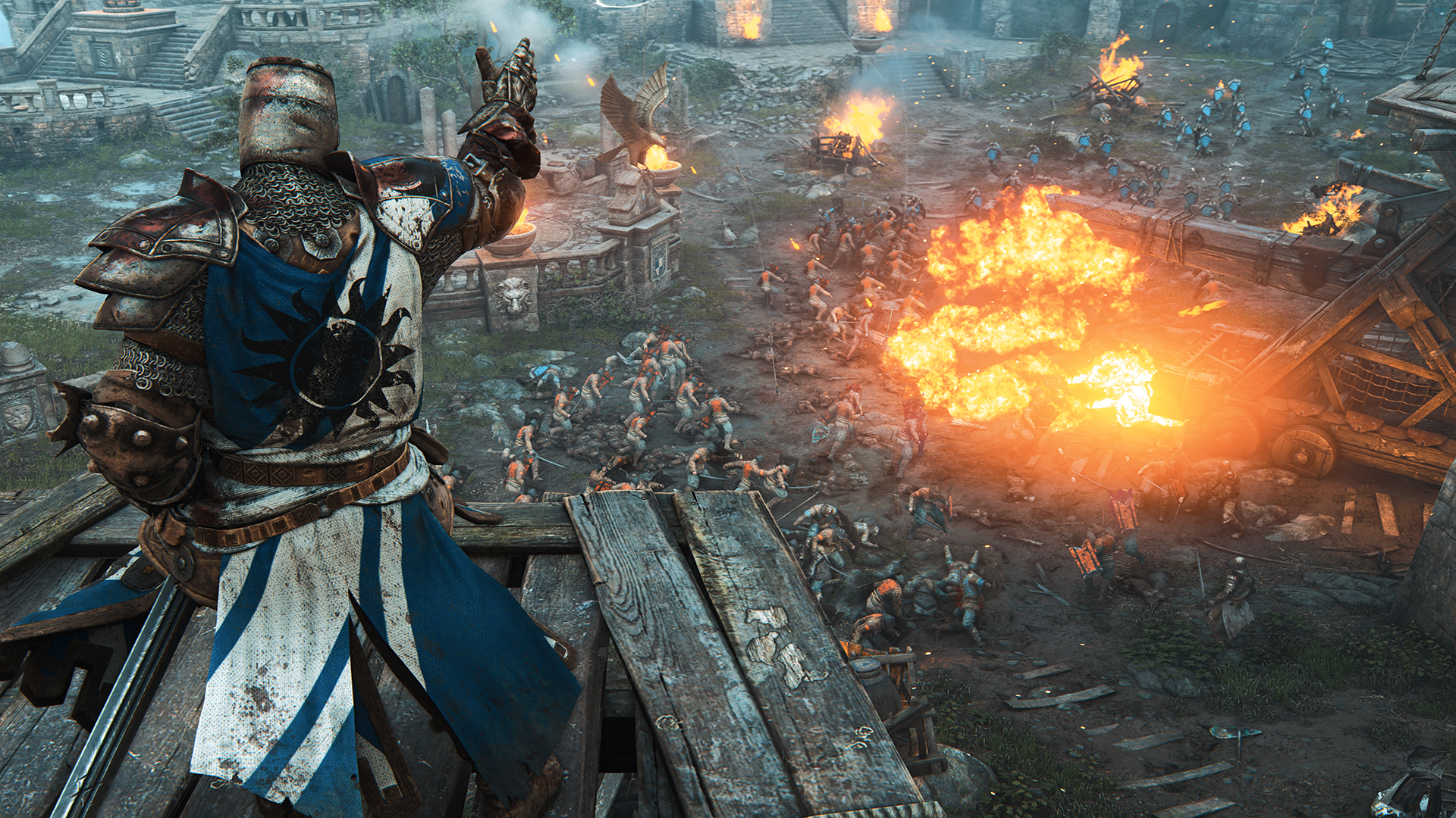 Ubisoft's latest action fighting game, For Honor