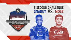5 Second Challenge (Snakey vs Mose)