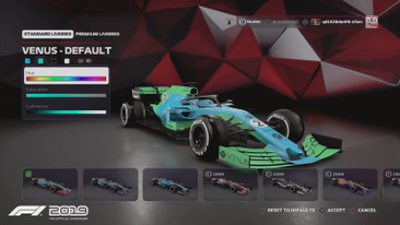 F1 2019: Full Game Look Including Menus, Customisation, Multiplayer Additions, Leagues And More