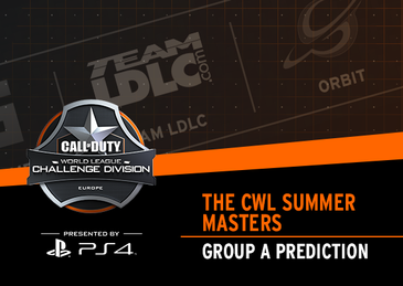 CWL Summer Masters: Group A Prediction