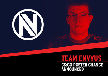 Devil Replaces Kioshima in EnVy CS Lineup