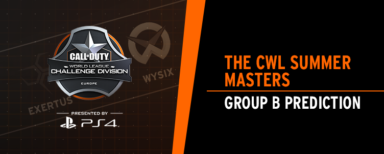 CWL Summer Masters: Group B Prediction