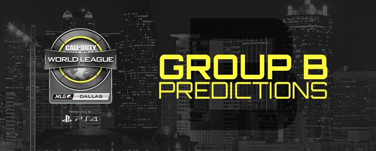 CWL Dallas - Group B Predictions