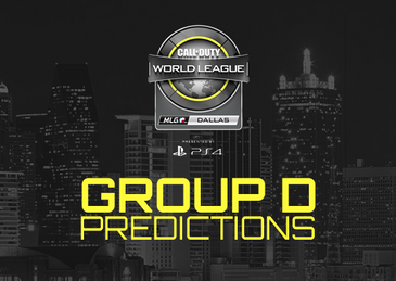 CWL Dallas - Group D Predictions