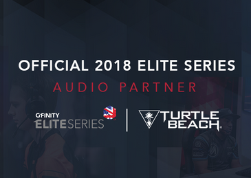 Turtle Beach named as 2018 Official Audio Partner for Gfinity Elite Series