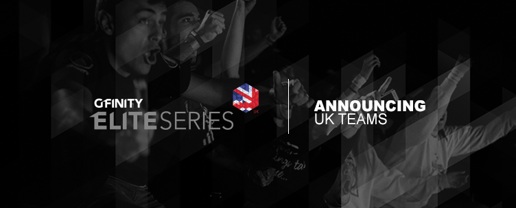 Announcing the UK teams for the Gfinity Elite Series