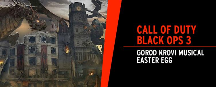 Call Of Duty Black Ops 3 Gorod Krovi Musical Easter Egg News