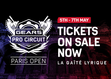 Tickets to the Gears Pro Circuit Paris Open are now on sale!