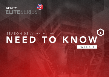 Elite Series Need To Know: Week 1