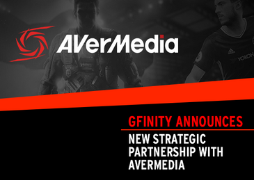 Gfinity Announces New Strategic Partnership with AVerMedia