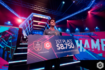 FCB Nicolas 99 is the Grand Champion of the Gfinity FIFA Series January