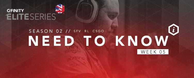 Elite Series Need To Know: Week 5
