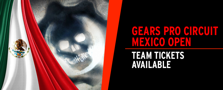 Gears Pro Circuit Mexico City tickets on sale