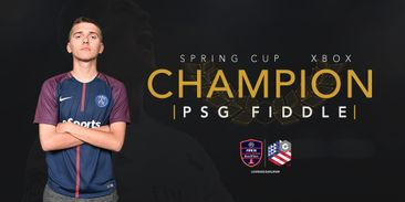 PSG Fiddle is the Gfinity FIFA 18 US Spring Cup Xbox Champion