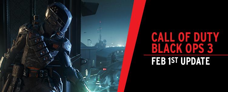 Call of Duty: Black Ops 3: Feb 1 Update :: News :: Gfinity