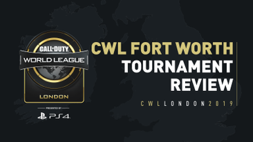 A Scope Into CWL Fort Worth: A New Champion Has Arrived