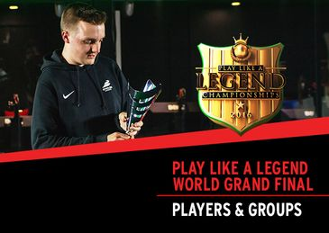 Announcing The Play Like A Legend World Grand Final Player Lineup & Groups
