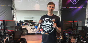 Joona Pankkonen wins the Volkswagen R DiRT World Championships