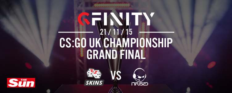 Join us for The Sun CS:GO UK Championship Grand Final