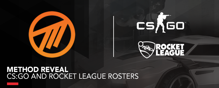 Method Reveal CS:GO And Rocket League Rosters