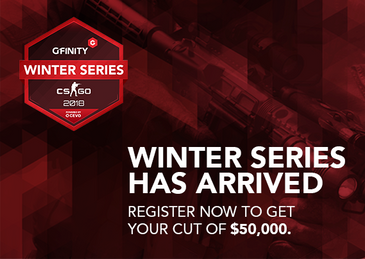 INTRODUCING THE GFINITY COUNTER-STRIKE: GLOBAL OFFENSIVE WINTER SERIES 2018