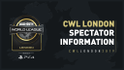 CWL London 2019 Spectator Information Pack