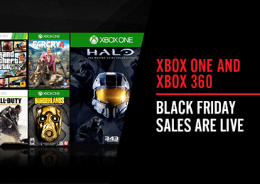 Xbox One And Xbox 360 Black Friday Sales Are Live News