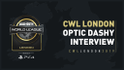 CWL London 2019 OpTic Dashy Interview