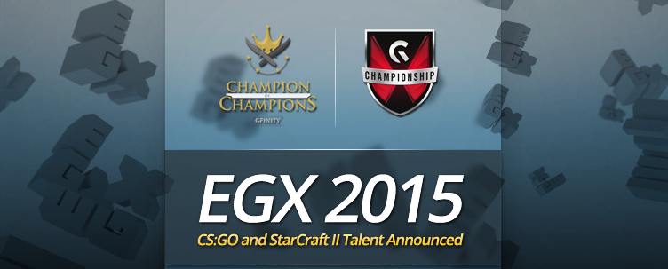 Announcing Gfinity's EGX Talent Line-Up :: News :: Gfinity