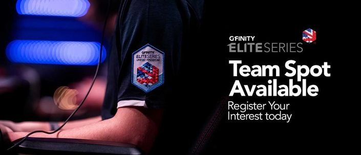 New team spot available at the Gfinity Elite Series UK