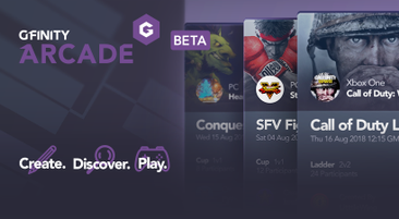 Introducing Gfinity Arcade BETA!