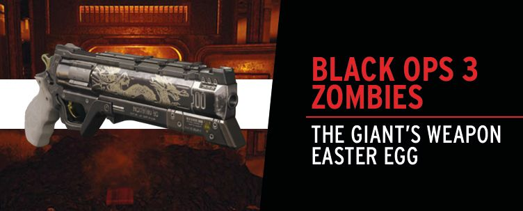 Bo3 Zombies: The Giant's Weapon Easter Egg | Gfinity Elite
