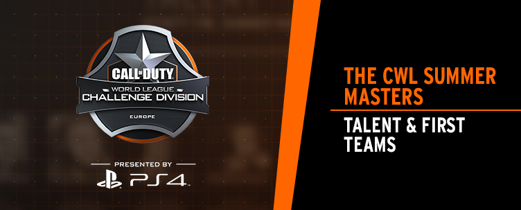 Announcing the CWL Summer Masters Talent & First Teams