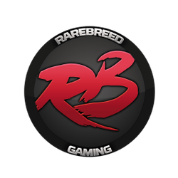 rareBREED GAMING's logo