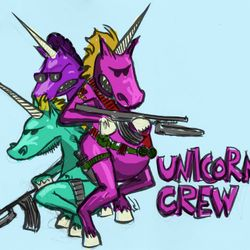 MLG UNICORNS's logo