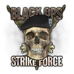 Black Ops Strike Force's logo
