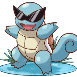 The Squirtle Squad's logo