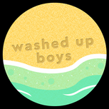 washed up boys logo