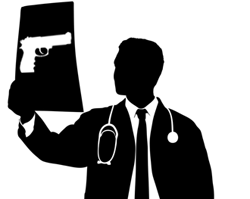 Doctor's with guns's logo