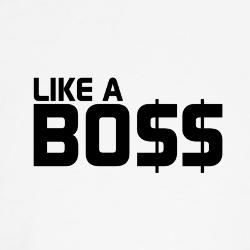 Like a BOSS's logo