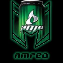 Amped Up's logo