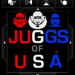 Juggernauts of USA's logo
