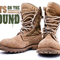 Finally Boots on the Ground's logo