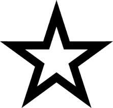 the BLACK stars's logo
