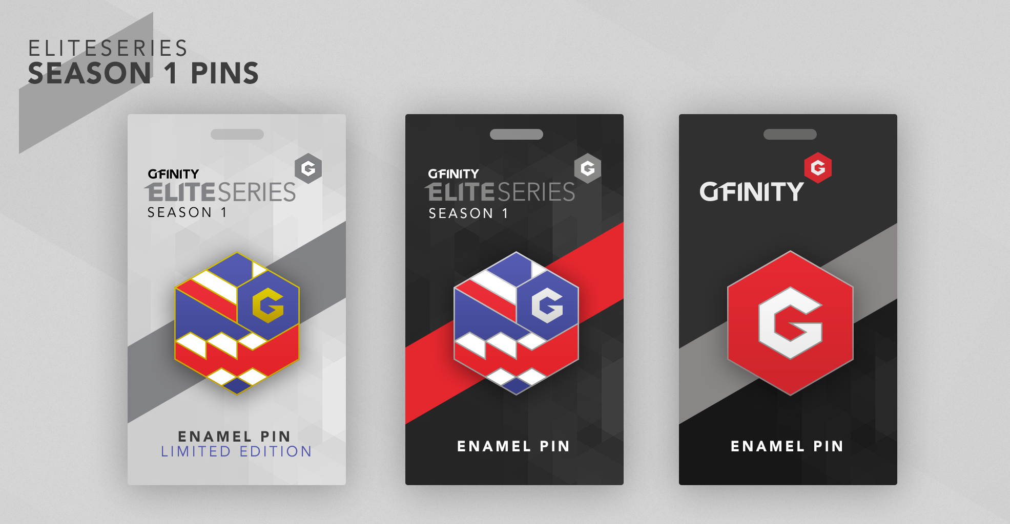 Attend the re-imagined Gfinity Arena to get an exclusive, free pin!